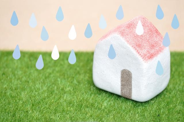 雨漏れ 家ボロボロ