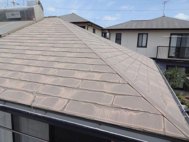 コロニアル屋根の全体図