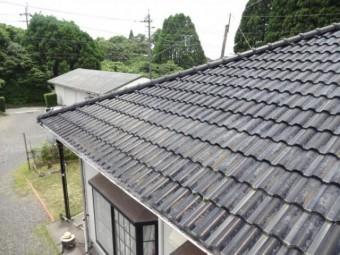 セメント屋根の劣化