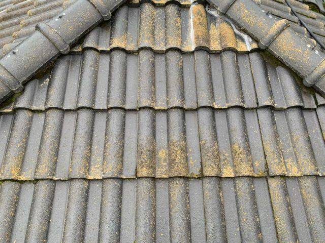 鹿児島市セメント屋根塗装工事