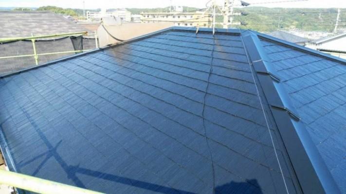 鹿児島市屋根塗装工事完成
