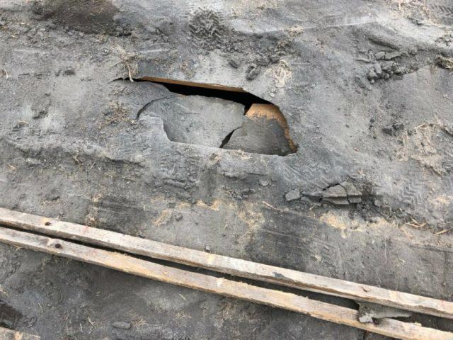鹿児島市での屋根工事雨漏れ原因部分