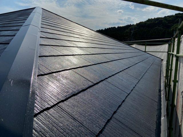 霧島市の屋根塗装工事完成