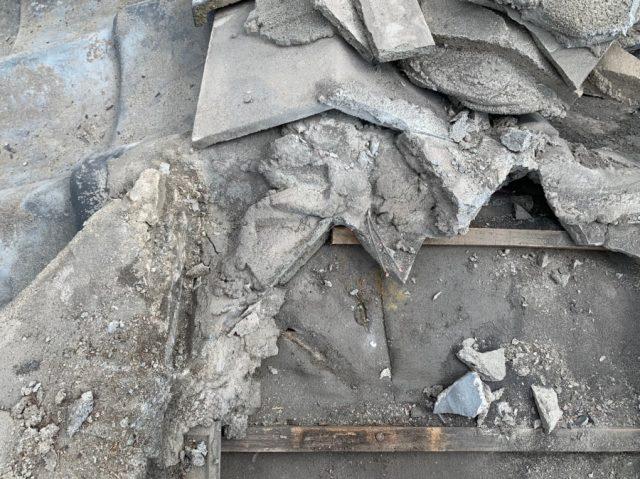 鹿児島市の雨漏れ補修工事棟補修