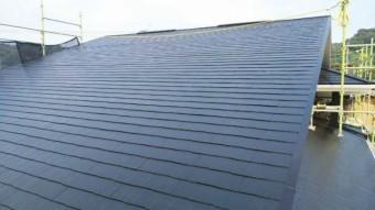 コロニアル屋根塗装完成