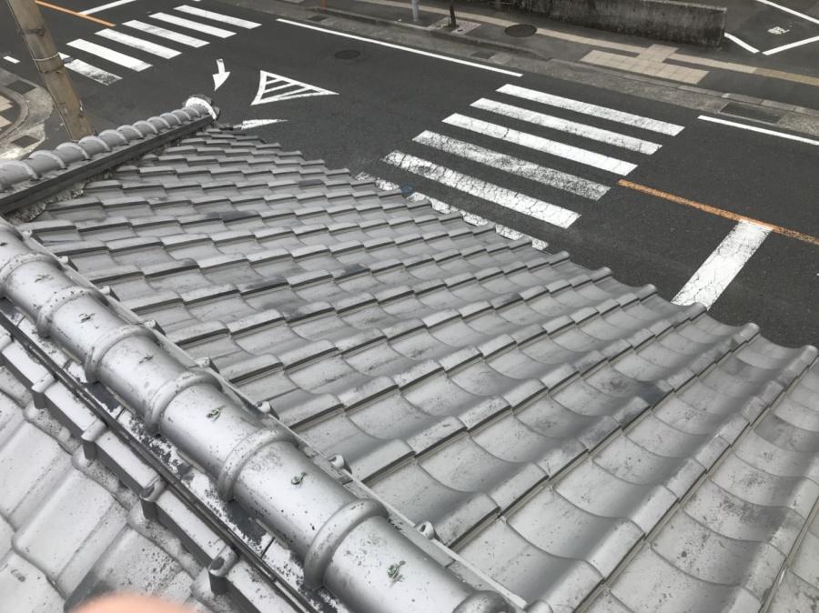 鹿児島市玉里団地で屋根の雨漏り無料点検