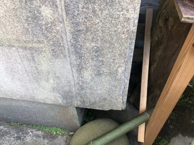 外壁 モルタルクラック