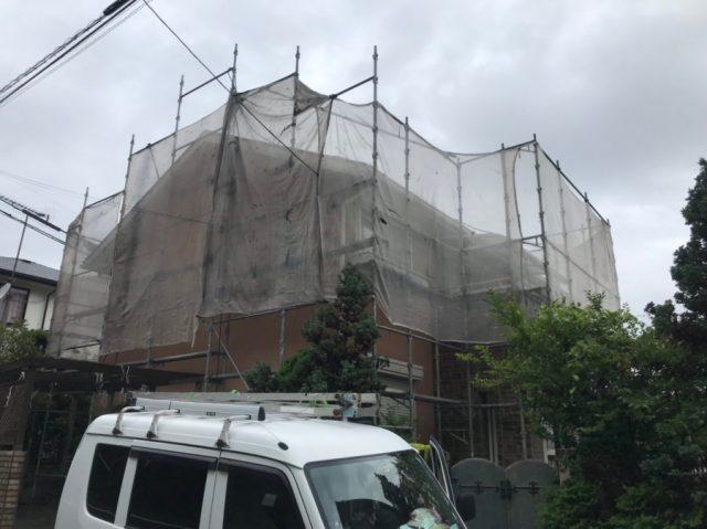 スレート屋根にガルバリウム鋼板を被せるカバー工法工事を鹿児島市で着工!