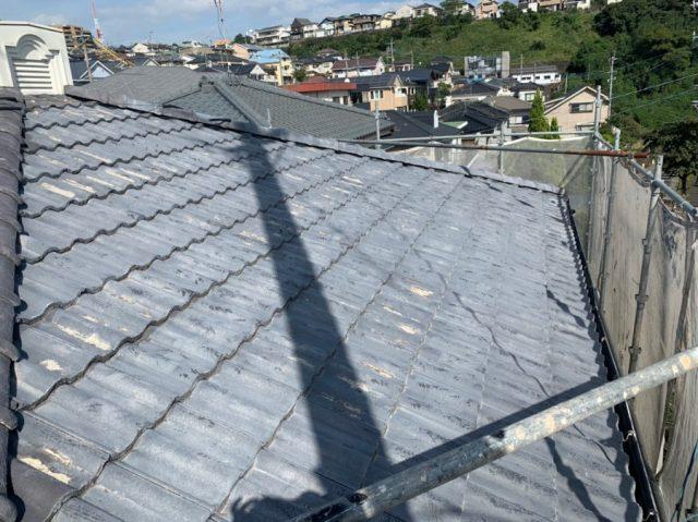 鹿児島市塗装工事前の様子