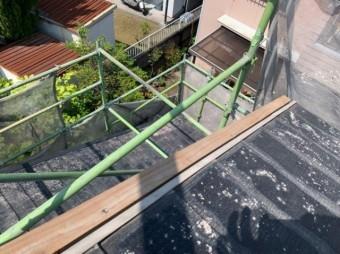 鹿児島市 スレート屋根の補修工事