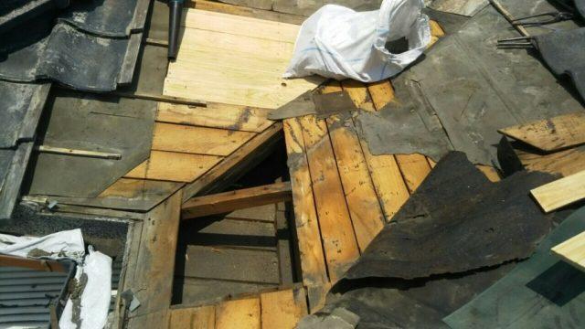 雨漏れ補修工事