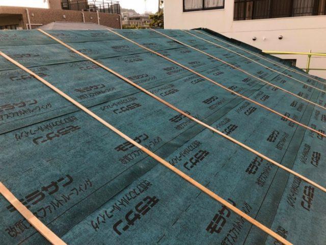 鹿児島市屋根の葺き替え 防水