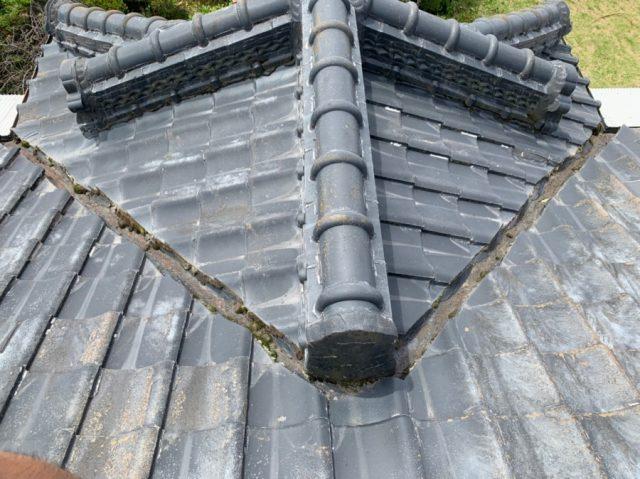 雨漏れ屋根補修工事