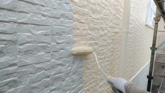 鹿児島市外壁中塗り塗料