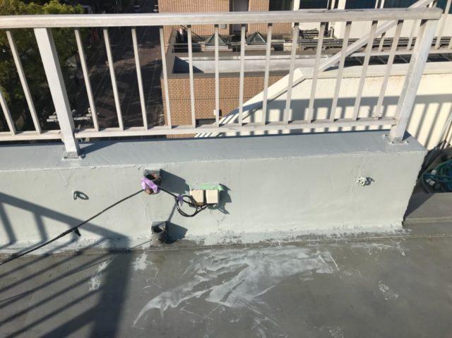 屋上防水 立ち上がり部分