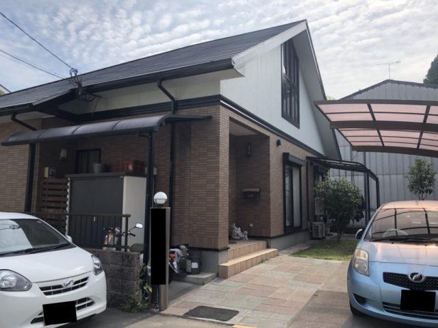 鹿児島県日置市伊集院町の屋根のカバー工事をした事例