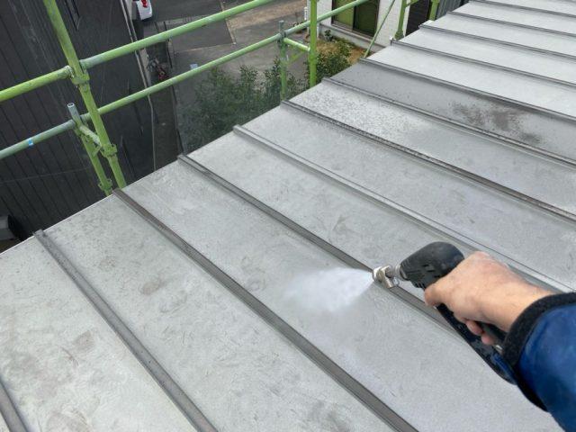 鹿児島市屋根塗装高圧洗浄