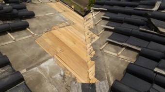 薩摩川内市雨漏れ補修工事
