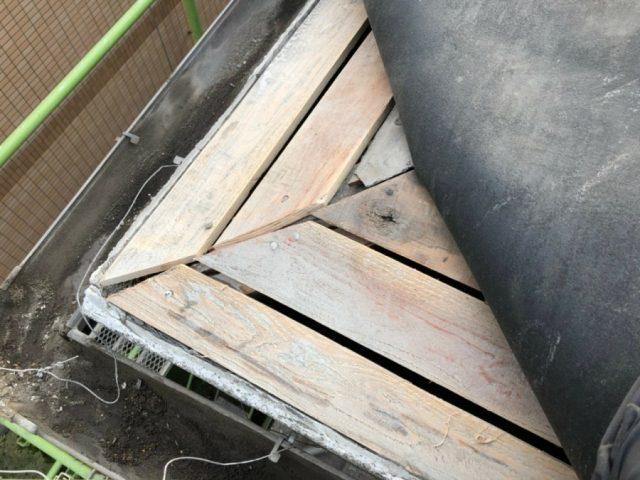 鹿児島市での屋根腐蝕部分修理