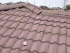 屋根漆喰の劣化
