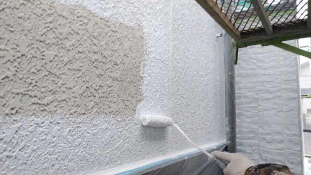 鹿児島市の外壁塗装下塗り