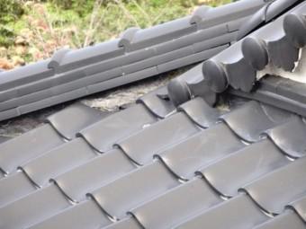 屋根の漆喰傷み補修