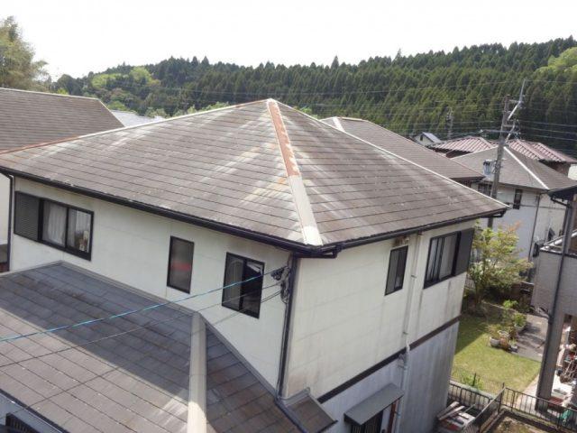鹿児島市で屋根塗装前の調査