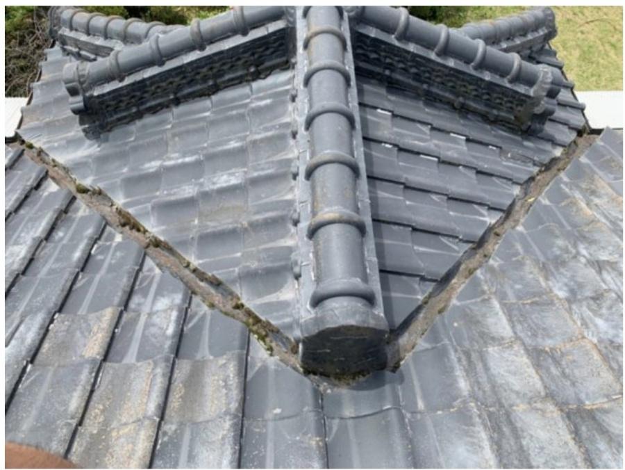 屋根の板金部