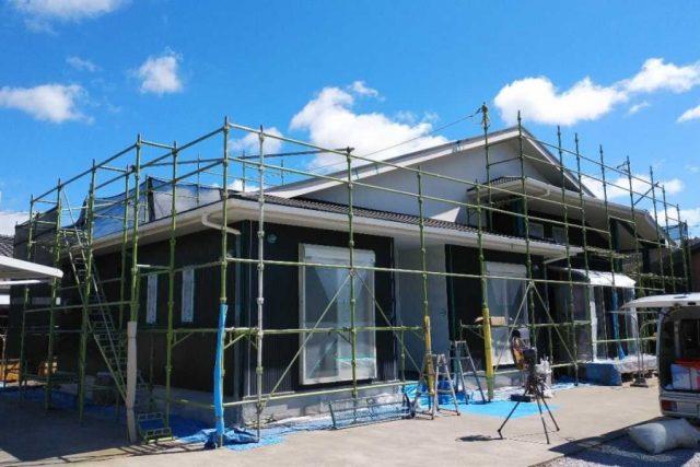 鹿児島市の屋根塗装工事前の様子