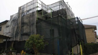 鹿児島市 塗装工事 着工