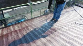 鹿児島市モニエル瓦 塗装工事