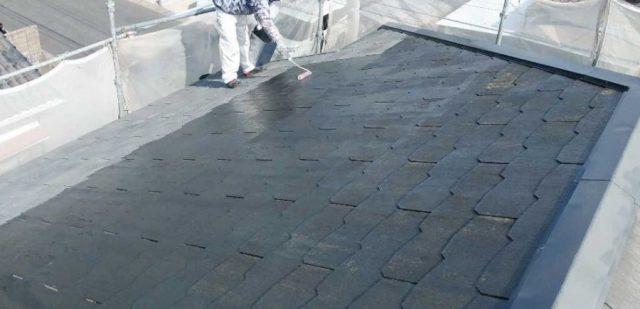鹿児島市コロニアル屋根塗装工事