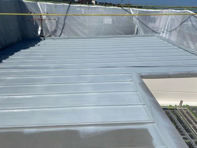 鹿児島市アパート屋根塗装工事