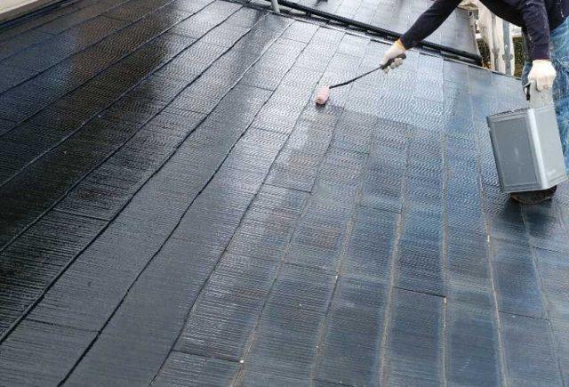 鹿児島市屋根の下塗り塗装工事