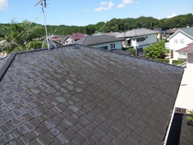 スレート屋根のメンテンス