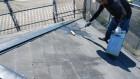 屋根下塗り 塗装工事