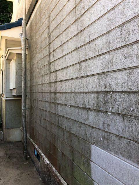 鹿児島市の外壁の汚れ