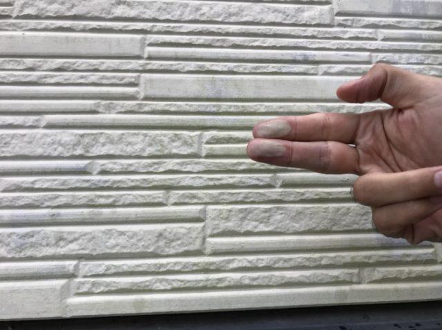 チョーキング 外壁の傷み
