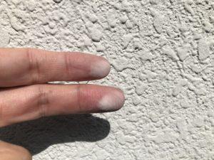 外壁・チョーキング現象