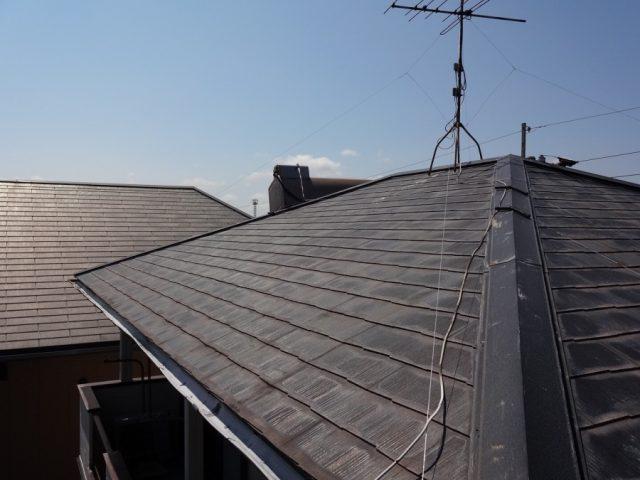 コロニアル屋根の傷み
