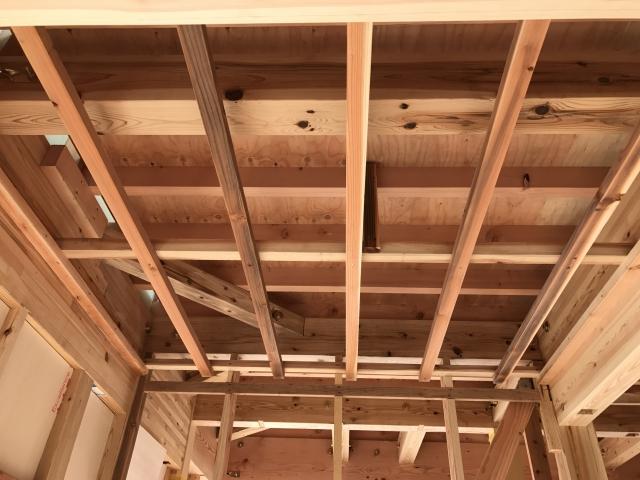 屋根の構造部
