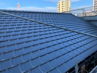 鹿児島市屋根の葺き替え完成