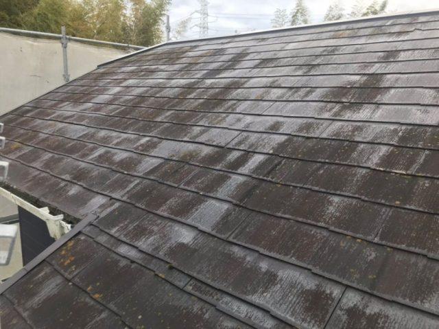 屋根塗装前写真