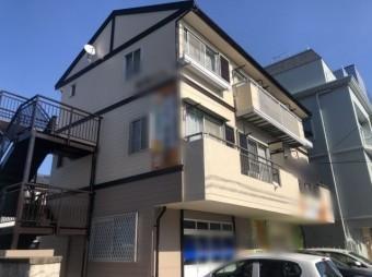 鹿児島市のアパート塗装