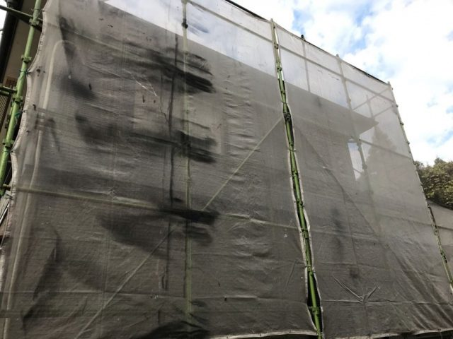 鹿児島市塗装前水養生