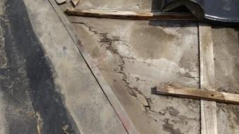 薩摩川内市瓦屋根の雨漏れ内部の様子