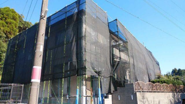 鹿児島市 塗装工事着工