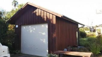 倉庫塗装 完成