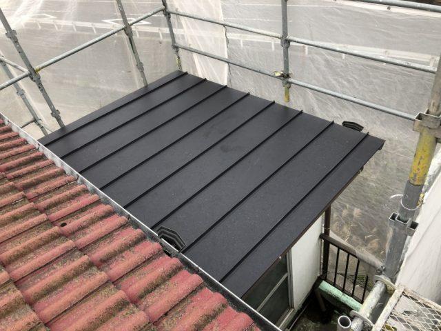 雨漏れ補修工事 ガルバリウム鋼板