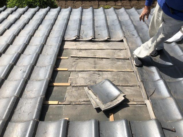 鹿児島市の雨漏れ補修工事の範囲
